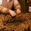 Dekorative Weidenkränze flechten