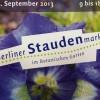 Staudenmarkt im Botanischen Garten in Berlin