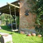 Der lauschige Garten hinterm Haus