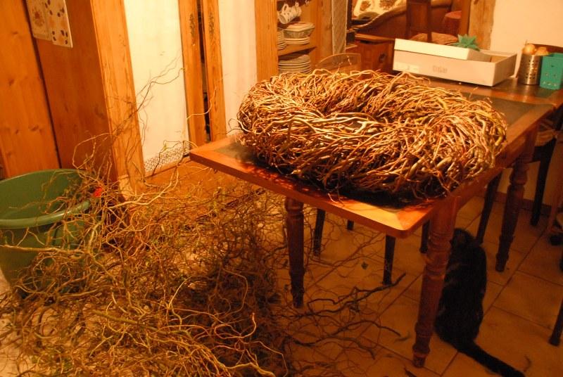 dekorative weidenkränze flechten | landlebenslust, Garten ideen