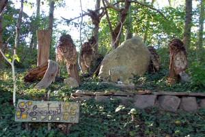 Svantevit im Unterholz