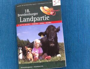 Broschüre der Brandenburger Landpartie 2012