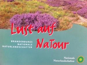 Broschüre Naturparks in Brandenburg