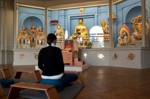Meditation (Foto: Reinhard Engelke)