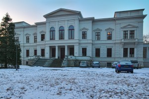 Schloss Sommerswalde im Winter(Fotograf: Reinhard Engelke)