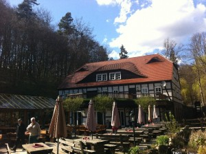 Boltenmühle im Frühjahr