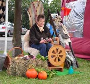 Handwerkermarkt Friedersdorf, mit frdl. Genehmigung des Kunstspeichers Friedersdorf